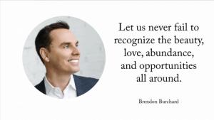 Brendon Buchard the Millionaire Messenger