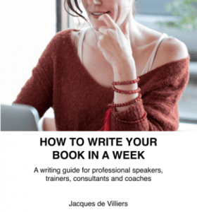 How To Write Your Book In A Week
