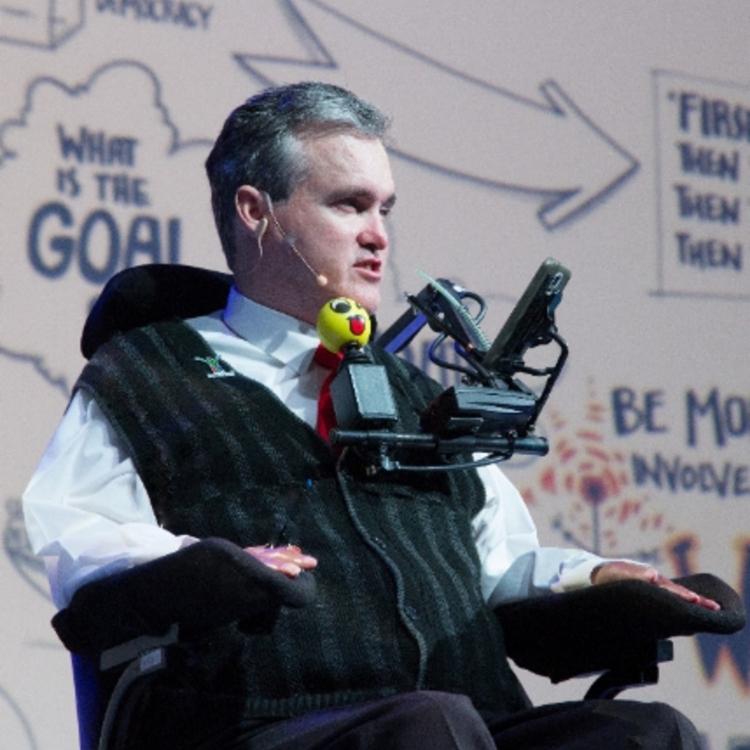 Inspirational speaker and motivational speaker Martin Brown
