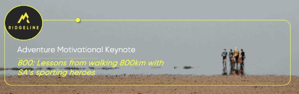 Behavioural economics speaker, Erik Vermeulen's adventure motivational keynote.